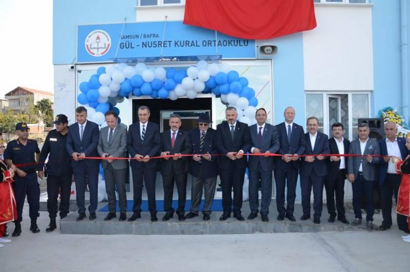 Gül-Nusret Kural Ortaokulu Açıldı 6