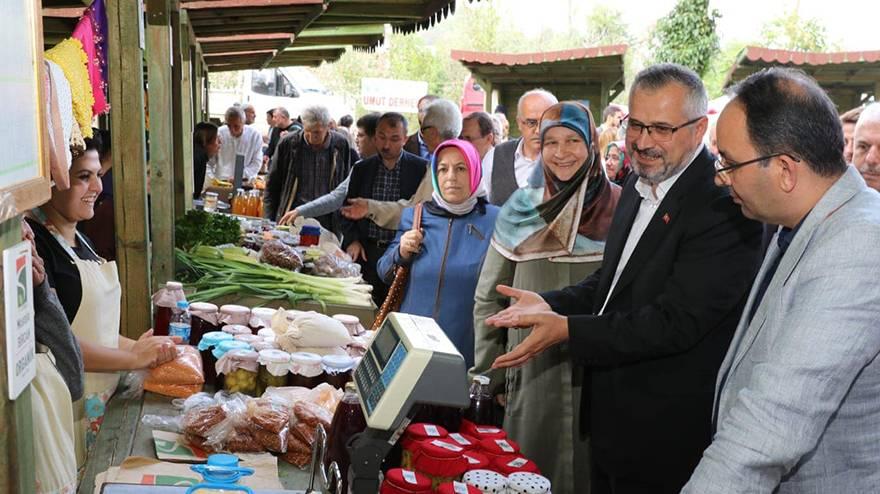 """Bafra'da """"7. Ekolojik Yerel Tohum ve Yaşam Şenliği"""" düzenlendi.  11"""