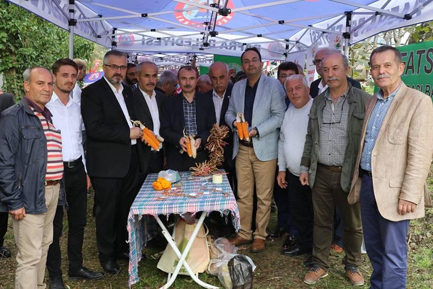 """Bafra'da """"7. Ekolojik Yerel Tohum ve Yaşam Şenliği"""" düzenlendi.  4"""