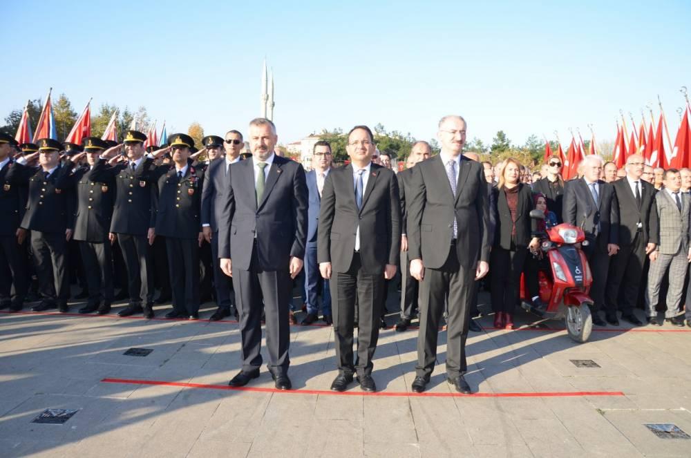Atatürk ölümünün 81. Yılında Bafra'da Anıldı 8