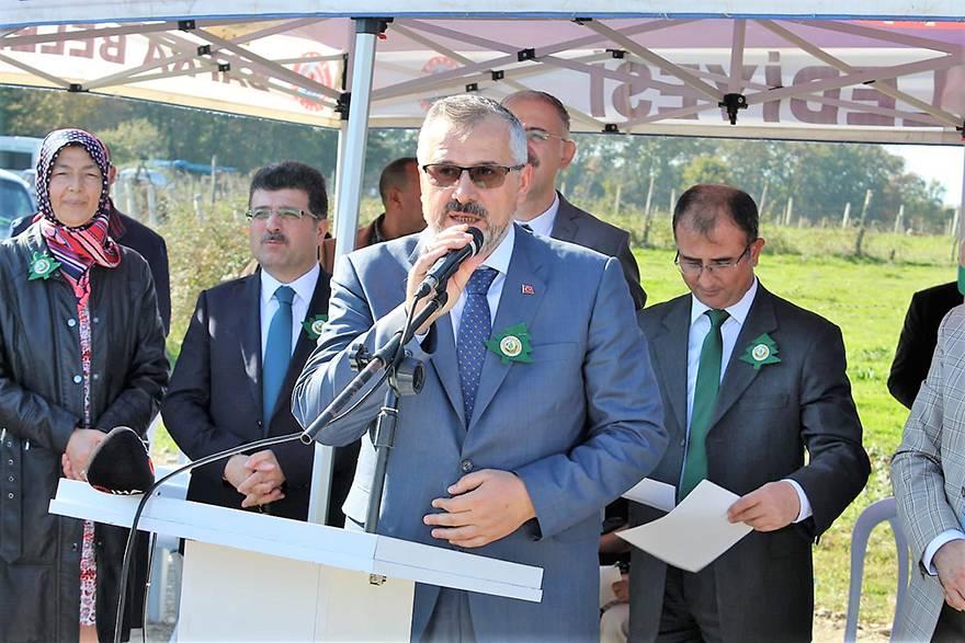 Bafra'da 5 bin fidan toprakla buluşturuldu 28
