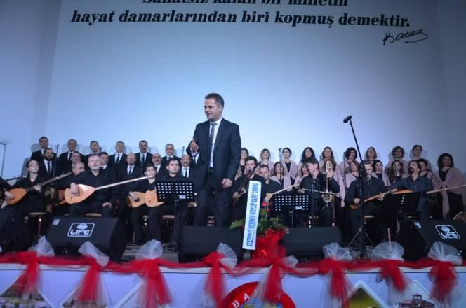 Bafra Musiki Cemiyeti'nden Yılın İlk Konseri 16