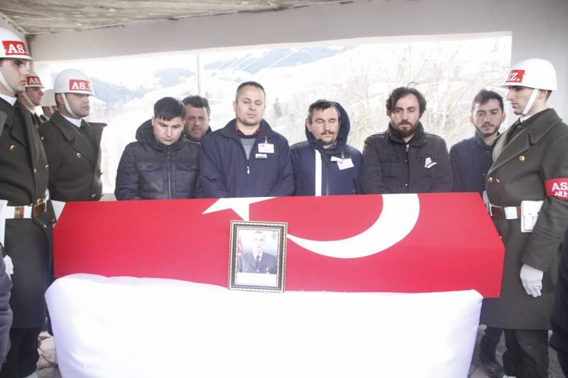 İdlib Şehidi Son Yolculuğuna Uğurlandı 11