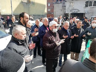 SENİHA İŞLER DUALARLA DEFNEDİLDİ 40