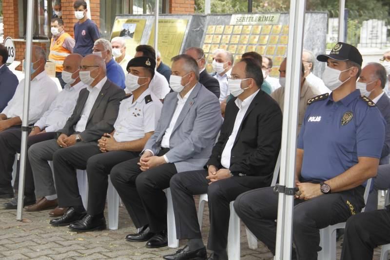 Bafra'da Şehitler Arife Günü Anıldı 4