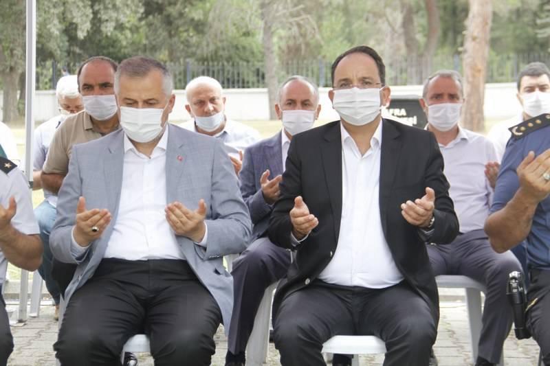 Bafra'da Şehitler Arife Günü Anıldı 6