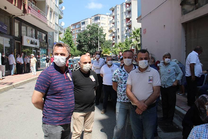 EKREM ATMACA DUALARLA DEFNEDİLDİ 8