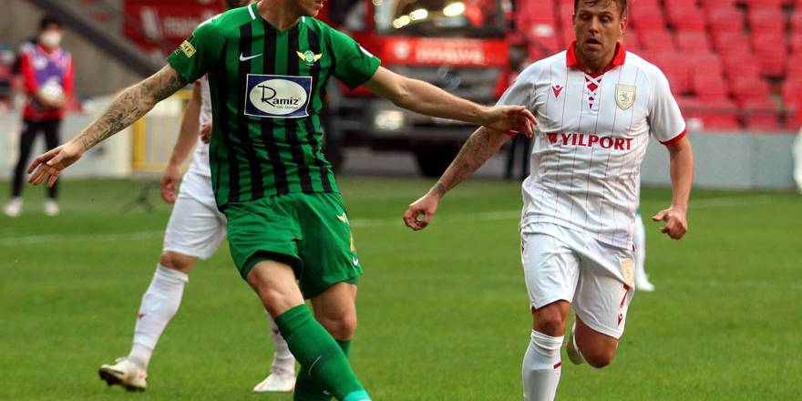 Samsunspor Akhisar'ı eli boş yolladı