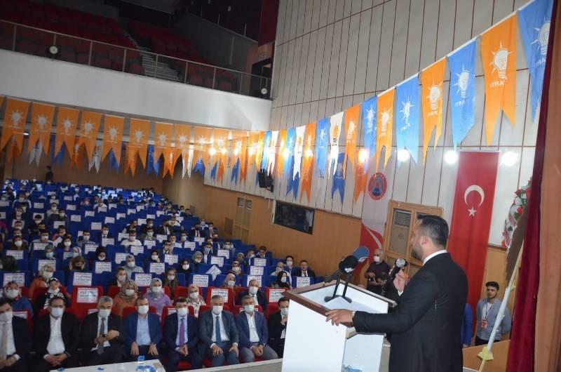 AK PARTİ GENÇLİK KOLLARI BAŞKANLIK SEÇİMİNE BAFRA'DAN START VERDİ 38