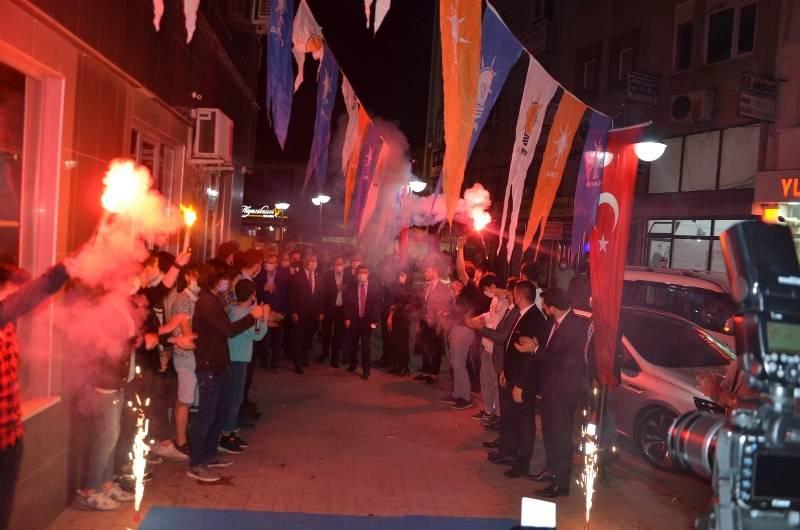 AK PARTİ GENÇLİK KOLLARI BAŞKANLIK SEÇİMİNE BAFRA'DAN START VERDİ 54