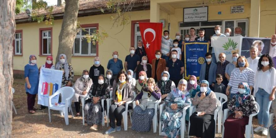 Bafra Kızılırmak Rotary Kulübünden Örnek Köy Projesi
