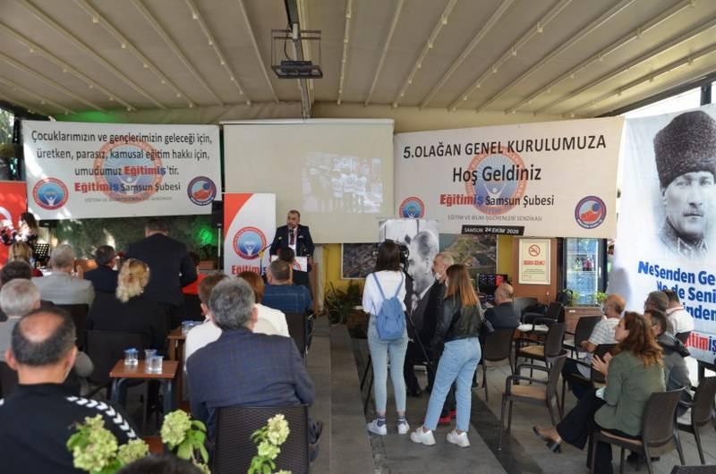 Samsun Eğitim-İş Samsun 5. Olağan Kongresini Düzenledi 15