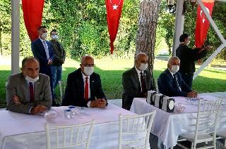 Bafra'da tebrikat töreni 33