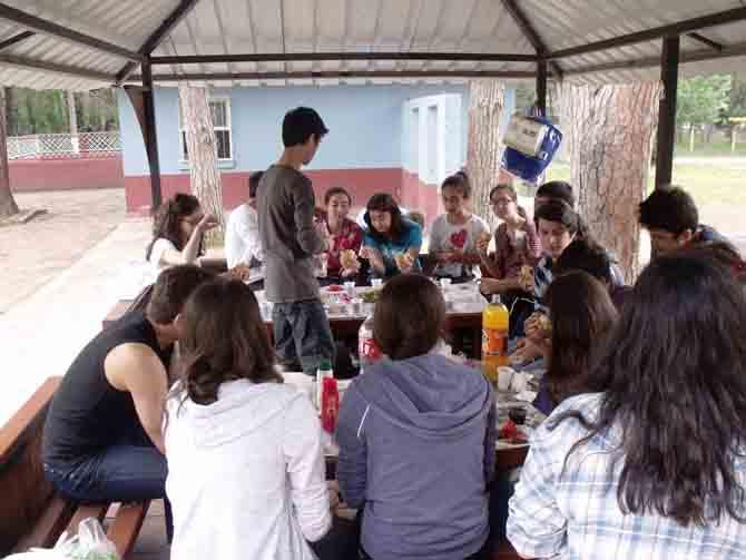 FEN LİSESİ ÖĞRENCİLERİ STRES ATTI 7