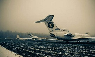 9000 uçaktan oluşan mezarlığı 9