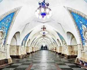 Moskova metrosu harika görüntüler galerisi resim 1