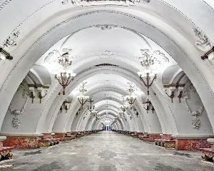 Moskova metrosu harika görüntüler 6
