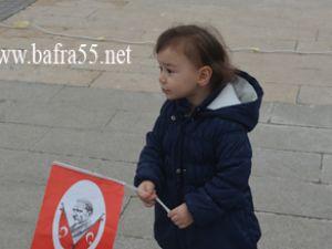 Bafra'da Cumhuriyet kutlamaları mest etti