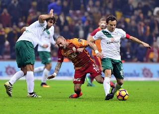 Galatasaray Bursaspor'u kendi sahasında mağlup etti galerisi resim 1