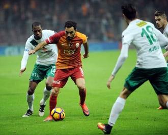 Galatasaray Bursaspor'u kendi sahasında mağlup etti 16