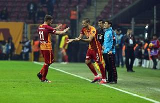 Galatasaray Bursaspor'u kendi sahasında mağlup etti 5