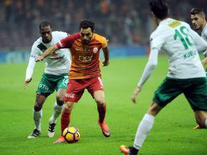 Galatasaray Bursaspor'u kendi sahasında mağlup etti
