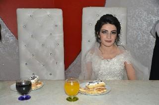 Damatsız düğün yapıldı 1