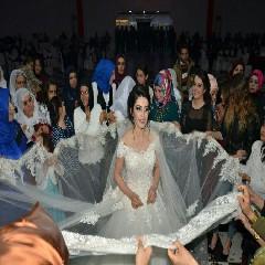 Damatsız düğün yapıldı 3