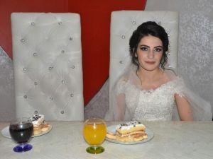 Damatsız düğün yapıldı