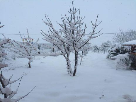 İşte Alaçam'da kar keyfi 2