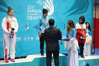 Gamze Keresteci Altın Madalya kazandı 2