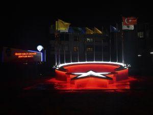 LADİK'İN YENİ ŞEHİTLİK ANITI GÖZ KAMAŞTIRIYOR
