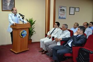 Bafra Kaymakamı Ali Katırcı Bafra Ticaret ve Sanayi Odası Meclis Toplantısına katıldı