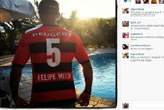 Melo, Flemengo formasını giydi