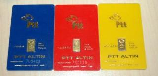 PTT Alaçam'da Altın Satışına Başladı