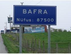 BAFRA NÜFUSU ARTTI 87500