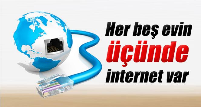 Türkiye'de nüfusun yarıdan fazlası internet kullanıyor