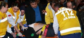 Bafra'da silahlı Çatışma 1 Yaralı