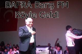 Bafra, Prof. Dr. Nihat HATİPOĞLUNu  Yoğun İlgiyle Karşıladı