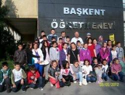 29 Ekim İ.Ö.Okulu Ankara'dan Döndü