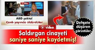 TV ekibini öldüren saldırgan cinayeti böyle görüntülemiş