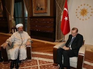 Erdoğan:Kurban vekaletini Diyanet işleri Başkanına verdi