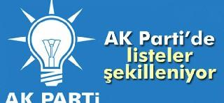 AK Parti adaylarını belirliyor