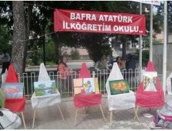 BAFRA'DA RESİM SERGİSİ