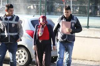Kasa hırsızı kadın yakalandı