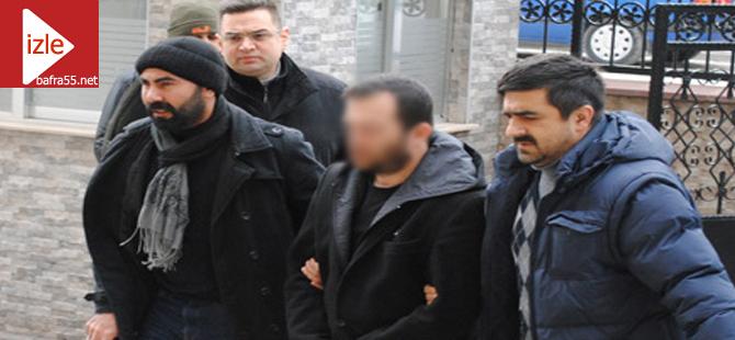 Bafra'da 3 ayrı suçtan aranan şahıs tutuklandı