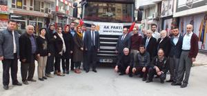 Ak Parti İlçe Başkanlığın`dan Türkmenlere yardım eli