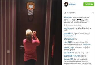 Arda Turan'ın annesi Basketçi oldu