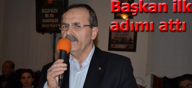 Başkan Şahin Ankara'da Bafralıların misafiri oldu