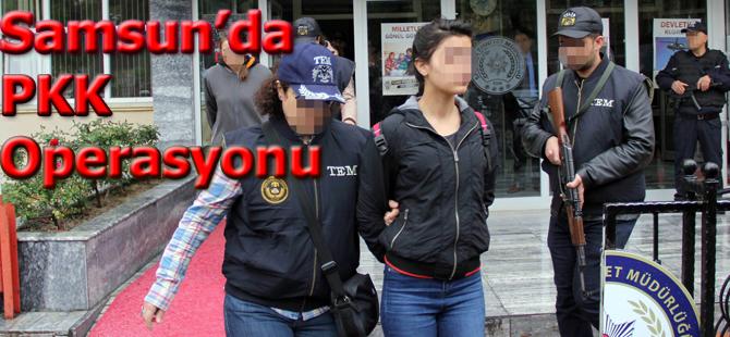 PKK Operasyonu zanlısı 7 kişi adliyede